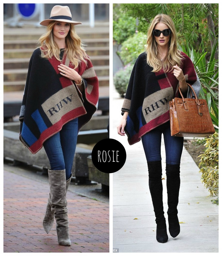 Rosie Huntington capes